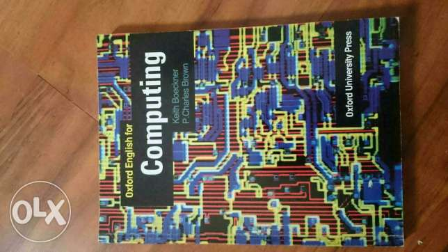 Oxford english for computing book for sale
