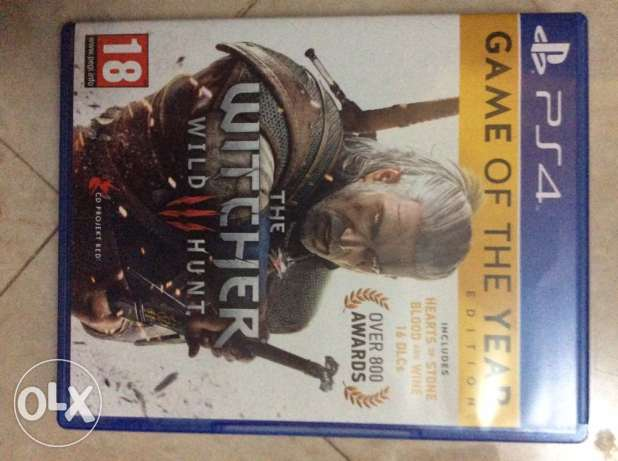 witcher 3 game of the year edition ps4