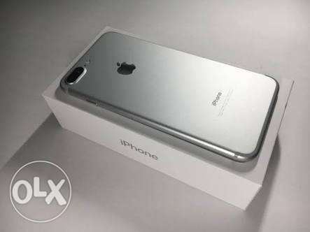 I phone 7 plus 256 giga silver