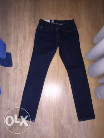 Abercrombie and Fitch Dark Blue Jeans