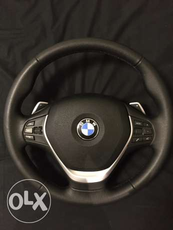 2017 BMW Steering Wheel with Shifting Paddles