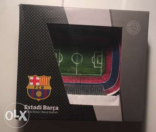 Original souvenir of Camp Nou Stadium