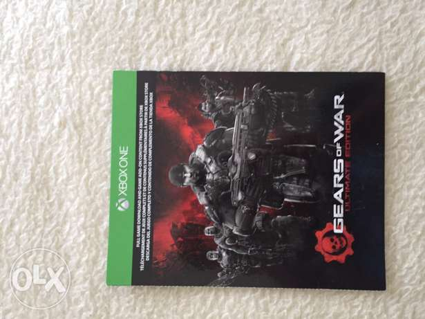 Gears of War Ultimate Edition and Halo 5 REQ Pack Xbox One