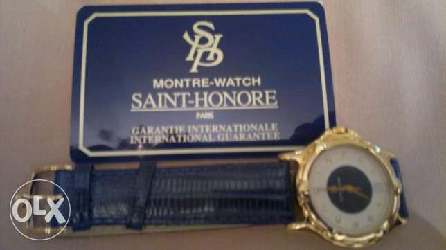 Saint Honore Paris Watch - Blue العباسية -  1