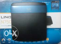 Linksys N750 Wi-Fi Wireless Dual-Band+ Router with Gigabit
