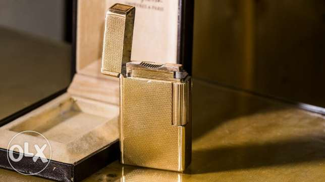S.T Dupont lighter Original gold plated ligne1 مدينة نصر -  3