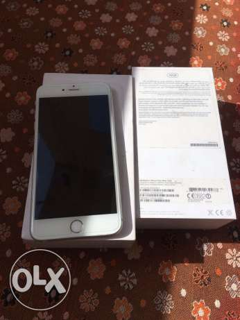iPhone 6plus 16 GB Silver white box