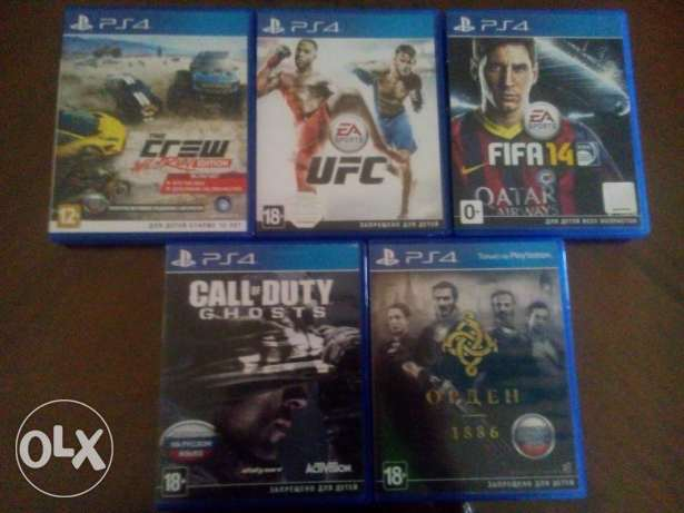 PS4 games for sale الغردقة -  1