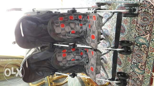 Twin mothercare stroller