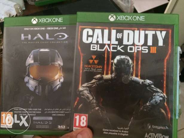 call of duty (black ops 3 ) & halo (the master chief collection)