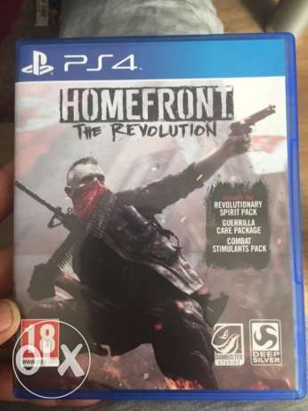 homefront ps4 cd new عربى و متبرشمه و سعرها مميز