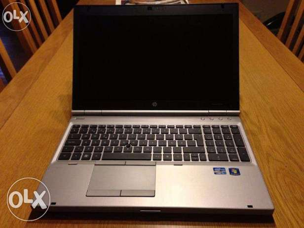 استيراد /للالعاب//LAP TOP HP ELITEBOOK 8560P CORE I5 RAM4 + VGA ATI