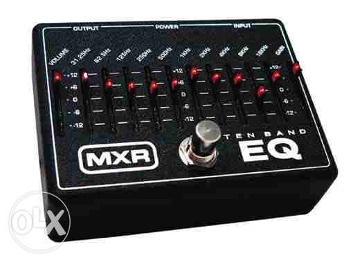 mxr 10 band eq pedal with adapter