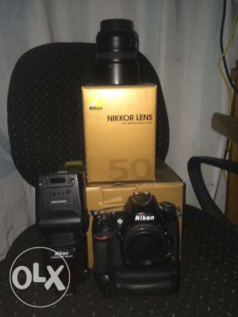 camera nikon D610 with lens 50 mm 1.8G with flash SB910 with box مدينة بورفؤاد -  1