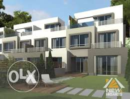 Twin-house located in 6 October for sale 452 m2, Palm Hills Golf Ext.