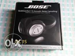 Bose QC 15 Noise Cancelling headphones