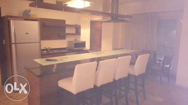 Modern apartment ground floor for rent in Sarayat El maadi