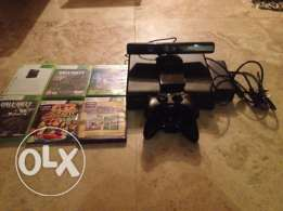 Xbox 360 with kinect 500 GB