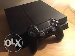 Ps4 with box and fifa16 arabic