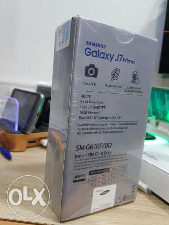 SALE : New Galaxy J7 Prime With Box And warranty Egypt شبرا -  2