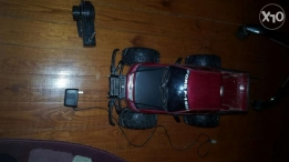 Toy car with controller and charger