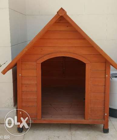 Premium+ Extra Large A-Frame Doghouse (trixie)p