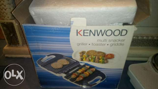 New Kenwood griller and Toaster