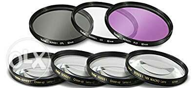 Vivitar Professional UV CPL FLD Lens Filter and Close-Up 58MM