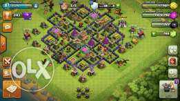 Clash of clans (town holl 8)max