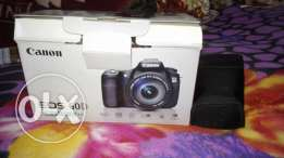 Canon D60 with 18-135 and all accessories with box like new