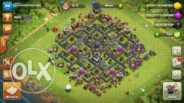 clash of clans (town hall lvl 9)