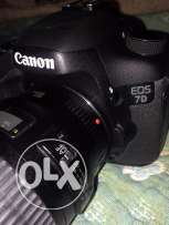 Canon 7D Camera with 2 Lenses and Accessories