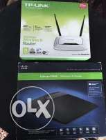 Tp Link TL-WR841ND - Linksys E1200 اكسس بوينت
