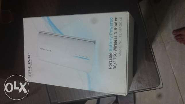 TP-Link USB 3G router with LAN socket