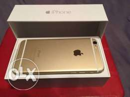 iphone 6 gold 16 gb gold like new