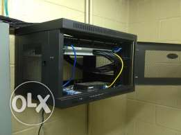 12U Wall Mount Network Server Data Cabinet (sealed)