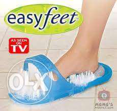 Easy feet ( no more bending to clean your feet ) شبشب لتنظيف القدم