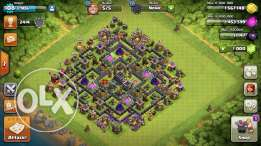 clash of clans town 9 max