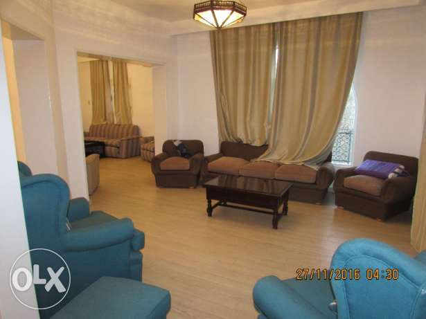 for Rent flat furnished 3 rooms 3 bathroom in very cool sriat maaid المعادي -  1