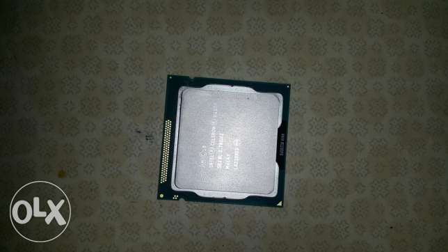 برسيسور Intel celeron Ivybridge g162o 2.7gh مدينة كفر الشيخ -  1