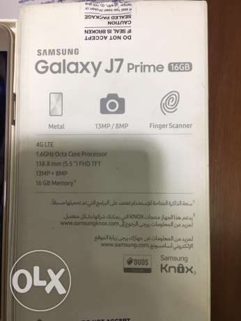 Samsung Galaxy J7 Prime /as New / Gold / All accessories / No Scratch مدينة نصر -  5