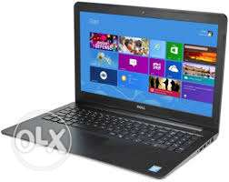 Laptop Dell 5558 processor intel core i3 ,Ram 4GB , HDD 500 GB