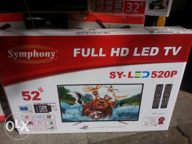 "52"" LED full HD"