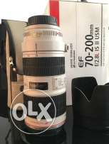 Canon 70-200 f2.8 isII- like new