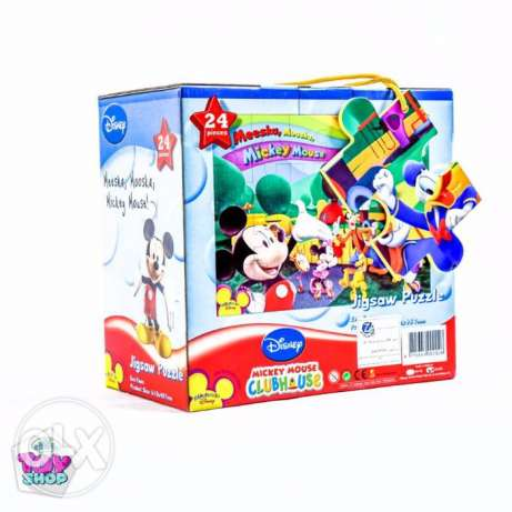 24Pcs jigsaw Puzzle (Mickey Mouse Club House)