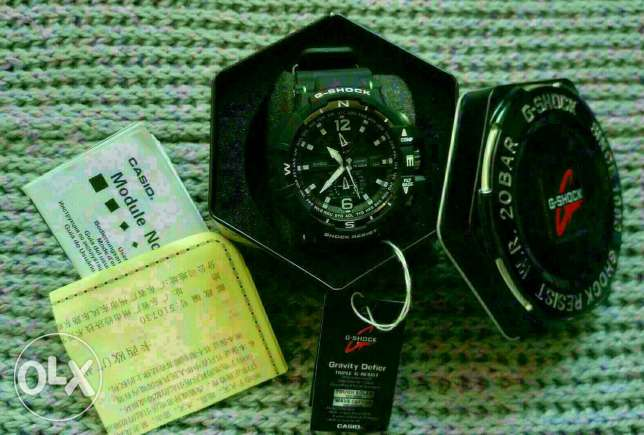 Black Casio G Shock
