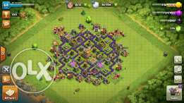 Clach of clans town hole 7 max
