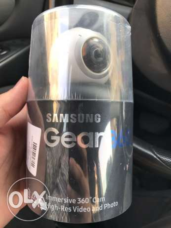 Samsung camera Gear 360 New and Sealed