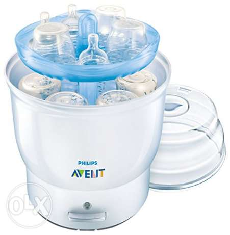 Philips AVENT BPA Free Electric Steam Sterilizer, White