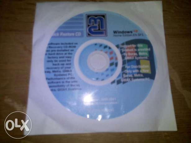 Windows XP home Original & Drivers & Nero CD